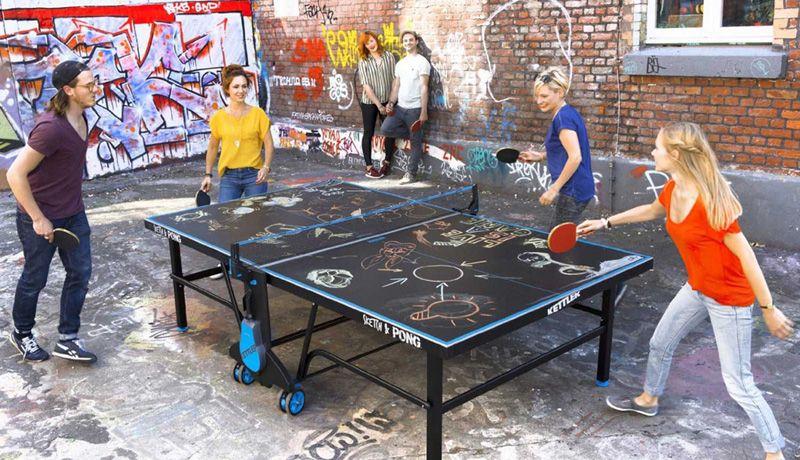 τραπέζια ping pong kettler